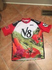 Louis Garneau Cycling Shirt Jersey XXL V8 Campbells Tomato Juice RARE