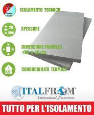 Pannello EPS 100 con Grafite per Isolamento Termico - 100 x 50 x 2 cm Italfrom