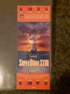 Joe Montana Signed Super Bowl Ticket Authenticated