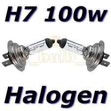 H7 Halógena 100w Reemplazo Halógena Dip Faros Focos Par