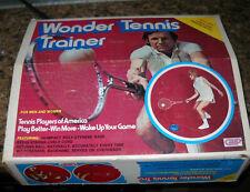 VINTAGE RARE WONDER TENNIS TRAINER NIB LONG PLAYING PRESSURELESS BALL