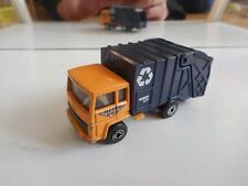 Matchbox Refuse Truck in Orange/Blue