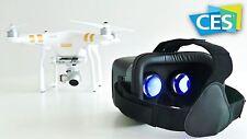 Occhiali FPV vista diretta Google drone da corsa VR 3d diretta ita phantom idj
