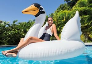 New Intex Mega Swan Island Pool Lounge Inflatable River, Sea, Lake 56287