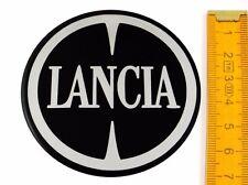 LANCIA ★ 4 Stück ★ SILIKON Ø70mm Aufkleber Emblem Felgenaufkleber Radkappen
