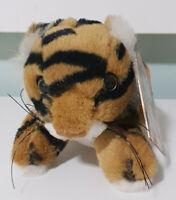 Dreamworld Tiger Island Tiger Cub Plush Animal Toy w/ Swing Tag 10cm Tall!