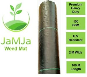 ON SALE Weed Mats 2m * 100m 105 GSM Weed mat control weeds Weedmat Garden