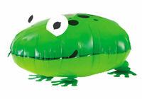 Folienballon Frosch Tier Laufend Heliumballon Luftballon Kindergeburtstag