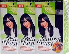 Schwarze Haar-Colorationen