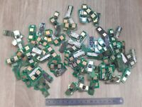 60 grams  Computer PC BACKPLANE FCI GOLD PLATED PINs SCRAP Recovery