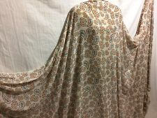 *NEW* Smooth Chiffon Paisley Print Dress/Craft Fabric Material *FREE POSTAGE*
