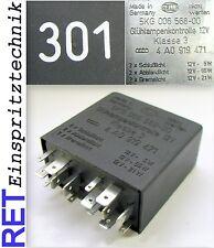1x 4RA 007 507-021 HELLA Relais Glühanlage für AUDI,SEAT,SKODA,VW