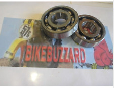 Bultaco Alpina Crankshaft Ball Bearing Replacement SET of 2 NEW!