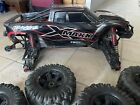 Traxxas X-maxx Brushless 8S Truck. BATTERIES. CHARGER & TWO WHEEL TOOLS