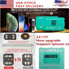 R-SIM12+! New upgrade RSIM Nano Unlock Card for iPhone XS MAX/XR/XS/8/7/6 4G iOS