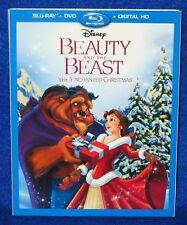 Disney Beauty and the Beast: An Enchanted Christmas (Blu-ray/DVD/Digital) 2-disc