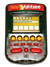 "Yahtzee Electronic Handheld Game 4""X3"" with Battery by Milton Bradley (1995)"