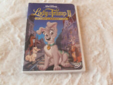 LADY AND THE TRAMP II: Scamps Adventure (DVD, 2001) * LIKE NEW * ALL ORIG. PAPER
