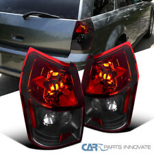 Fit Dodge 05-08 Magnum Black Red Parking Tail Lights Reverse Brake Rear Lamps