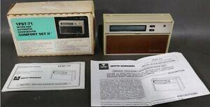 White Rodger 1F94-71, 7-Day Heat Pump Comfort Set II, Digital Thermostat