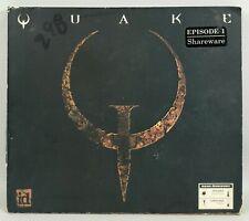 PC QUAKE Video Game w/ Manual - 1996 ID Software