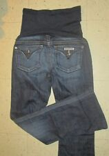 Hudson 'A Pea in the Pod' Maternity Flap Pocket Boot Cut Stretch Jeans Womens 27