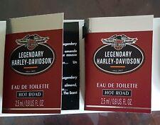Harley Davidson Hot Road Legendary 2 x 2,5 ml Edt Der 1. Duft (Vintage Duft)
