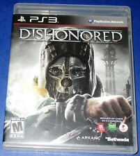 Dishonored PS3 Complete-In-Box - CIB - w/ Manual! *Free Shipping!