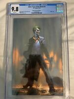 Limited To 700! JOKER YEAR OF THE VILLAIN #1 CGC 9.8 DELL'OTTO VIRGIN VARIANT.