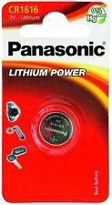 1 x Genuine Panasonic 1616 DL1616 CR1616 ECR1616 3v Batteries Coin Cell