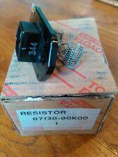 Toyota Land Cruiser J7 LJ KZJ HZJ 78 OEM NOS heater blower resistor, 87138-90K00