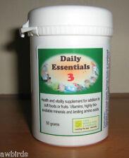 DAILY ESSENTIALS 3 - 50g - FOR BIRDS - Birdcare Co.