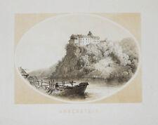 c1865 Slowenien Slovenija Anchenstein Grad Borl Lithographie Reichert