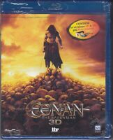 Blu-ray 3D + 2D + 4 Occhialetti **CONAN ~ THE BARBARIAN** nuovo 2011
