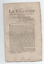 1792  JOURNAL REVOLUTION LE COURRIER DES 83 DEPARTEMENTS, N°13