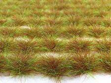 6mm MARSH GRASS 117 GRASS TUFTS Self-Adhesive MADE in UK w FAST USA Shipping