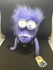Universal Despicable Me 2 Purple Minion Plush Toys. One Eye And Two Eyed. *new*