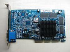 Gigabyte GV-GF1280-32E nVidia GeForce 2 MX 200 AGP 32MB SDR VGA TEST OK!