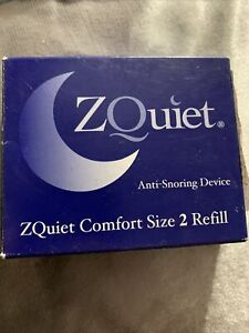 ZQUIET Original Anti-Snoring Mouthpiece Solution, Comfort Size #2 Refill ONLY
