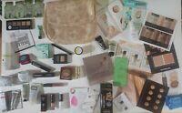 35+ Pc Skincare/Makeup lot-- Benefit, Smashbox, Laura Mercier, Etc & Bag! 💜