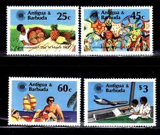 SELLOS AVIACION ANTIGUA Y BARBUDA 1983 689/92 4v.