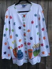Onque Womens Cardigan Size 1X