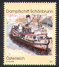 Austria 2012 Schonbrunn/Paddle/Steam/Boats/Nautical/Transport/Art 1v (n38537)