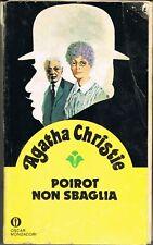 POIROT NON SBAGLIA -AGATHA CHRISTIE -OSCAR GIALLI N.961
