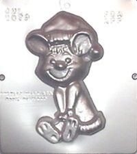 Large Christmas Mouse Chocolate Candy Mold Christmas 2079 NEW