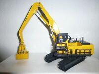 Excavadora Komatsu PC1100LC-6 Cuchara Bivalva Joal 1:50 NUEVA en caja no nzg.