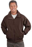 Port Authority Men's Heavyweight Zippered Pocket Fleece Lining Jacket. J754