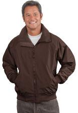 30e1f7c9a33 Port Authority Men s Heavyweight Zippered Pocket Fleece Lining Jacket.