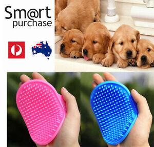 Pet Dog Cat Grooming Puppy Brush Hair Mitt Hand Glove Mitten Comb Fur Cleaning v