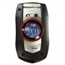 Casio C711 G'zOne Boulder RUGGED Cell Phone (VERIZON) Camera ~Black &  Red~ Used